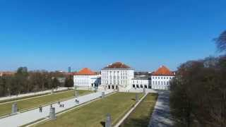 preview picture of video 'Bebop Drone at Nymphenburg Palace'