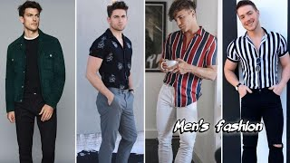 Men's Fashion//New Formal And Semi Formal Outfits//Summer Outfit Ideas For Men//Stripped Shirts men