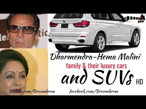 Dharmendra-Hema Malini | Family & Their Luxury Cars | And SUVs