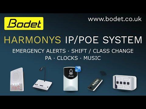 Harmonys IP/POE System Demonstration