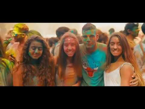 Hollywood - holi dance with desi song - yasg 2018