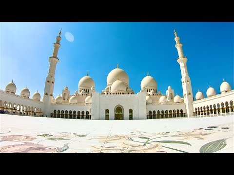 Tour of Sheikh Zayed Mosque in Abu Dhabi