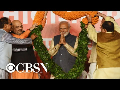 Narendra Modi wins second term as India's prime minister
