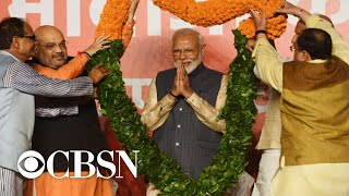 Elections 2019 Narendra Modi Wins Second Term As India s Prime Minister