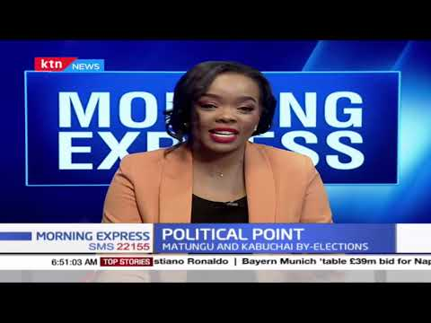 Matungu and Kabuchai by-elections to set pace for 2022 polls | Political Point
