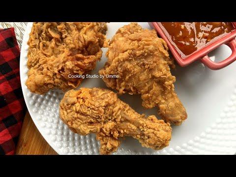 ফ্রাইড চিকেন KFC স্টাইল || Fried Chicken Recipe Bangla || KFC fried Chicken