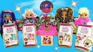 Мультик Куклы ЛОЛ OMG на пикнике в АВТО ДОМИКЕ Сюрпризы Чемоданы LOL Surprise Style Suitcase