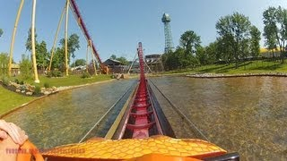Diamondback On-ride Front Seat (HD POV) Kings Island