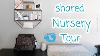 BABY BOY NURSERY TOUR + ORGANIZATION || SHARED ROOMS ♡