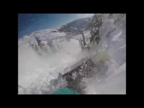 Lawinenrucksack rettet Leben von Snowboarder - Lawine in Whistler, Kanada 11/01/2017