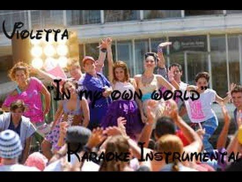 Violetta- In my own world (Karaoke Instrumental)