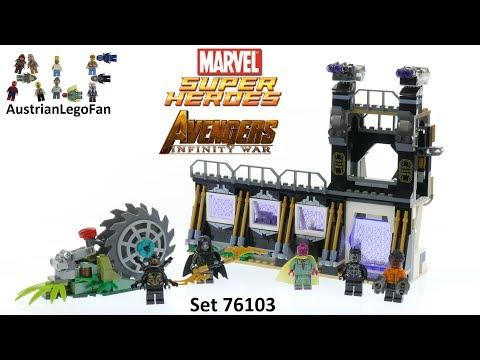 Vidéo LEGO Marvel Super Heroes 76103 : L'attaque de Corvus Glaive