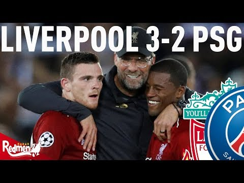Liverpool V PSG 3-2 | #LFC Fan Twitter Reactions Mp3