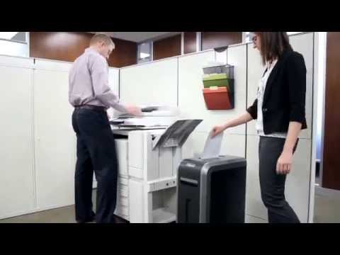 Video of the Fellowes Powershred 125i Shredder
