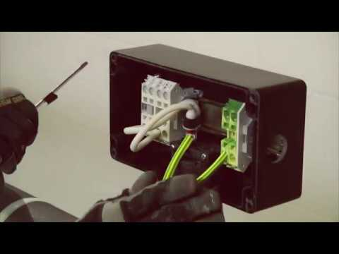 JBM-100-EP - Boîte kit intégré raccord entrées multiples, plaque terre, ATEX