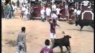 preview picture of video 'Fiestas Patronales Cantalpino - Encierro 17-08-91'