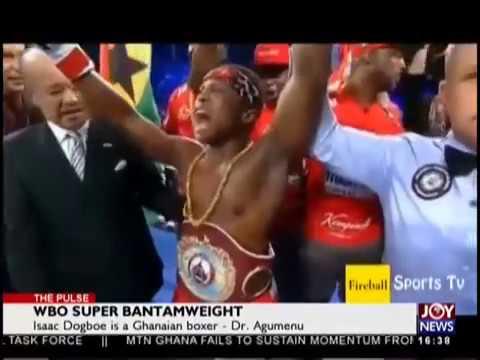 WBO Super Bantamweight - The Pulse Sports on JoyNews (6-9-18)
