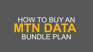 How to buy mtn data bundle plan