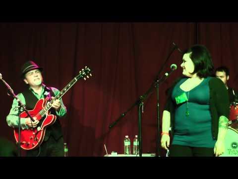 Jade Bennett, Gino Matteo & Joey Delgado at Blues Slingers Ball