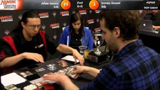 Grand Prix Vancouver 2016 Finals: Adam Jansen vs. Jeremy Dezani (Draft)