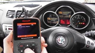 iCarsoft i950 Demonstration ABS VDC