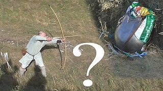 Longbow versus breastplate - which will win?