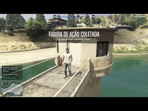 GTA 5 ONLINE - PT3 ACTION FIGURES