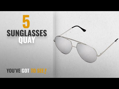 Top 10 Sunglasses Quay [2018]: Quay Australia BLAZE Men's Sunglasses Oversized Aviator Sunnies For