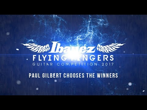 Paul Gilbert announces my name as the 3rd place winner for the Ibanez Flying finger contest USA 2017. Check it out !!