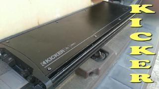 NEW Amps! 1 of 2 Kicker zx2500's UPDATE!