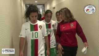 Selecção Nacional Feminina - Bastidores - Algarve Cup 2012
