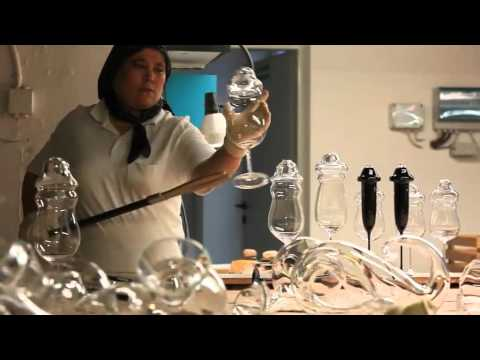 Riedel Sommeliers Weinglas Produktion
