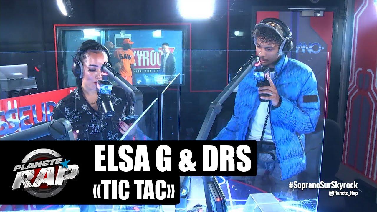 Un DUO reprend un classique de SOPRANO devant LUI ! (Elsa G & DRS) #FreestyleAuditeur