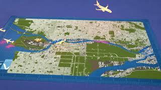 Aircraft Flight Routings At YVR