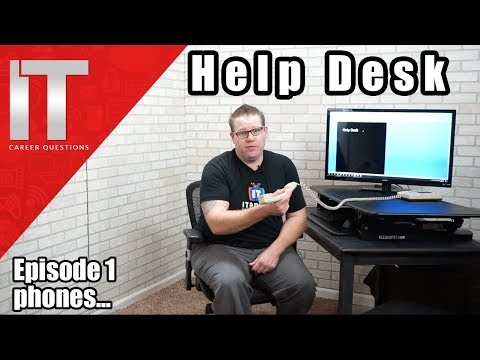Help Desk Training - Answering the Phone - Episode 1 - YouTube