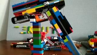 Глок 17 из лего glock 17 from lego