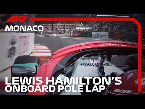 2019 Monaco Grand Prix: Lewis Hamilton's Pole Lap | Pirelli