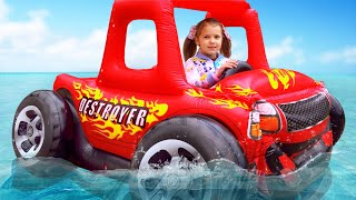 Max and Katy toy cars stories