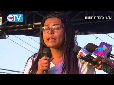Pueblo se une en Amor a Nicaragua