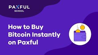 Wie kann ich Bitcoin durch Paxful kaufen?
