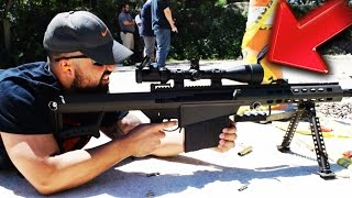 "SHOOTING ""Call of Duty"" WEAPONS IN REAL LIFE..."