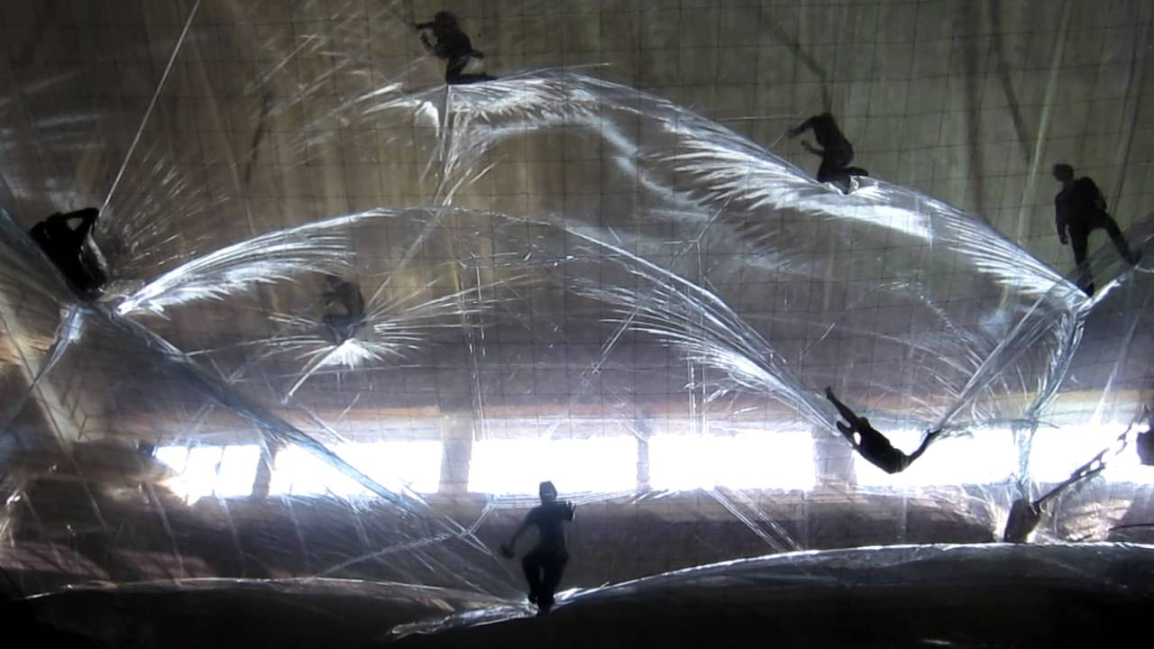 Get Trapped Inside This Giant Plastic Space Time Foam Art Installation