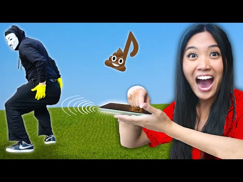 This SOUND Makes You POOP! I Craft a Funny Prank Gadget for DIY Tricks & Hacks to Find Hacker Crush