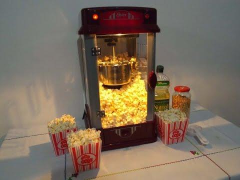 popcorn machine Oster Maquina de palomitas