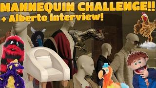 MANNEQUIN CHALLENGE + Alberto Interview!! || Puppetaria Films