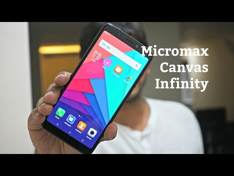 Micromax Canvas Infinity Unboxing, Hands-on, Camera Features