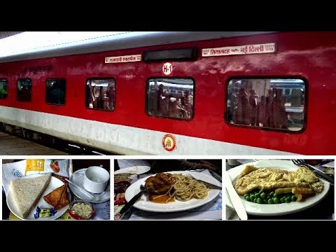 Sealdah Rajdhani AC First Class Full Journey Coverage
