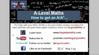 How to get an A or A* in Maths A-Level