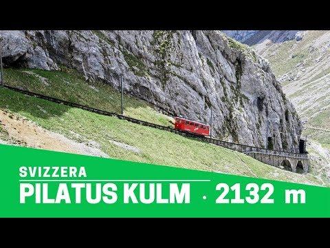 Pilatus Kulm: la cremagliera più ripida del mondo (48% di pendenza!)