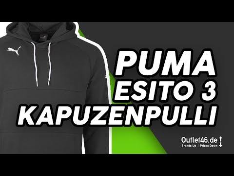 Puma Esito 3 Herren Kapuzenpullover schwarz DEUTSCH l Review l On feet l Overview l Outlet46